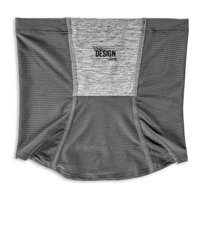 Customized Holloway Endeavor Coolcore Gaiter - Athletic Gray