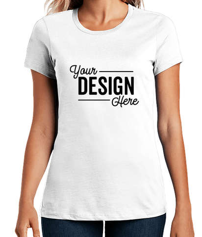 District Women's Perfect Weight T-shirt - Bright White