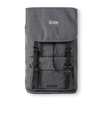"""Stormtech Oasis 17"""" Computer Backpack  - Carbon Heather"""