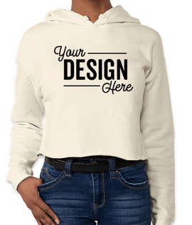 Independent Trading Women's Cropped Hoodie