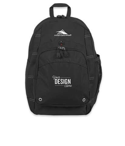 High Sierra® Impact Backpack - Black