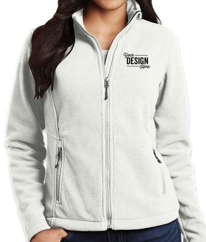Port Authority Women's Value Fleece Jacket - Winter White