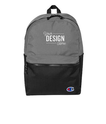 Champion Colorblock Backpack - Heather Grey