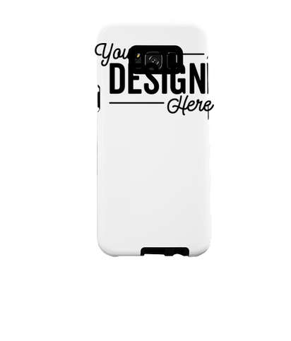 Full Color Galaxy S8+ Tough Phone Case - White