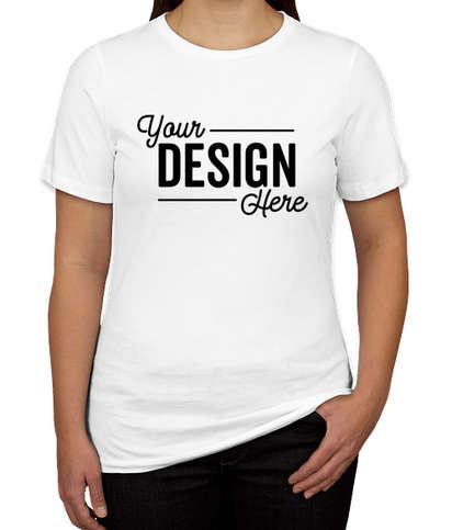 Canada - Bella + Canvas Women's Jersey T-shirt - White