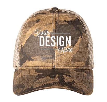 Dri Duck Covert Trucker Hat - Camo
