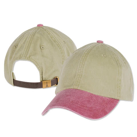 Adams Pigment Dyed Two-Toned Hat