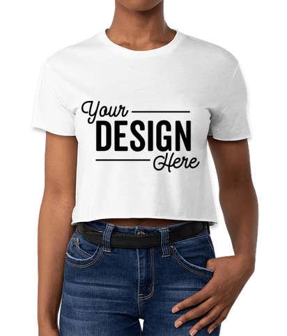 Next Level Women's Crop T-shirt - White