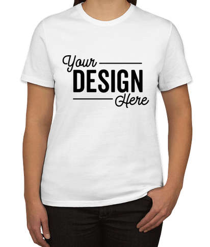 Port & Company Women's Core Cotton T-shirt - White