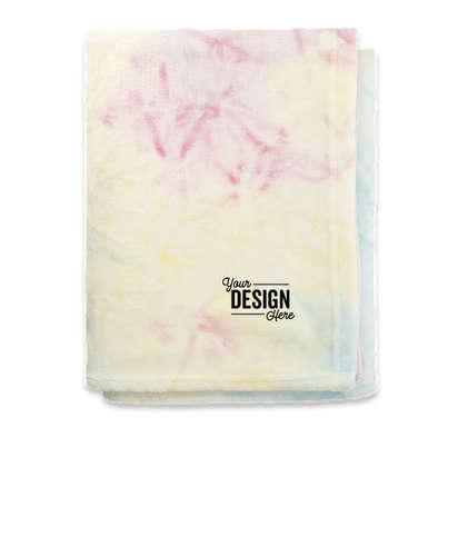 Tie-Dye Fleece Blanket - Tie-Dye