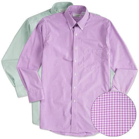 Van Heusen Gingham Dress Shirt