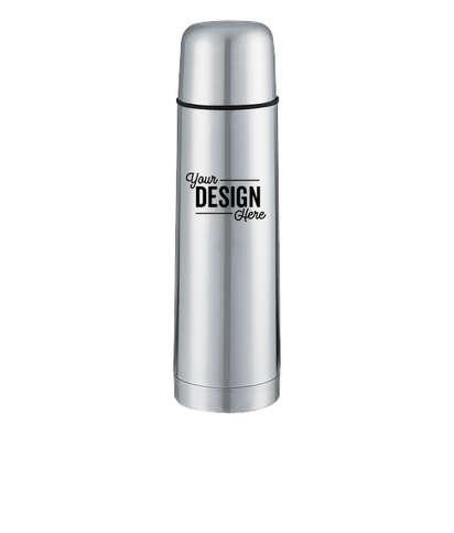 17 oz. Vacuum Bottle with Leak-Proof Cap - Stainless Steel