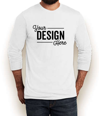 Allmade Tri-Blend Long Sleeve T-shirt - Fairly White