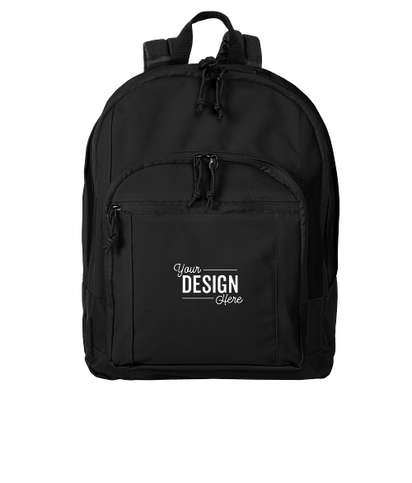 """Port Authority 15"""" Computer Backpack - Black"""