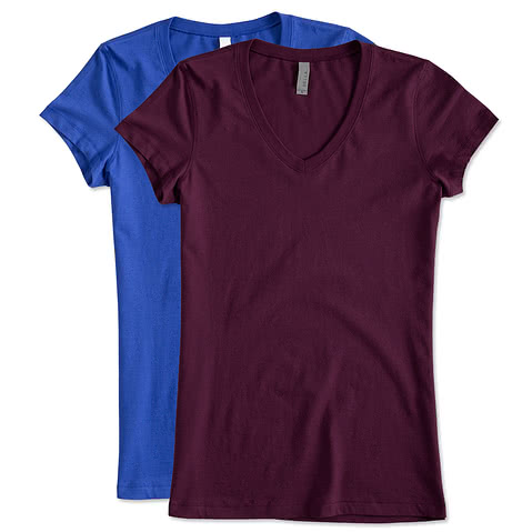 Canada - Bella + Canvas Juniors Jersey V-neck T-shirt