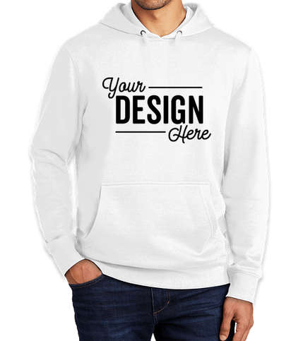 District V.I.T. Pullover Hoodie - White