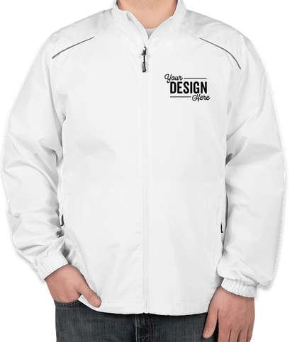 Core 365 Lightweight Full Zip Jacket - White