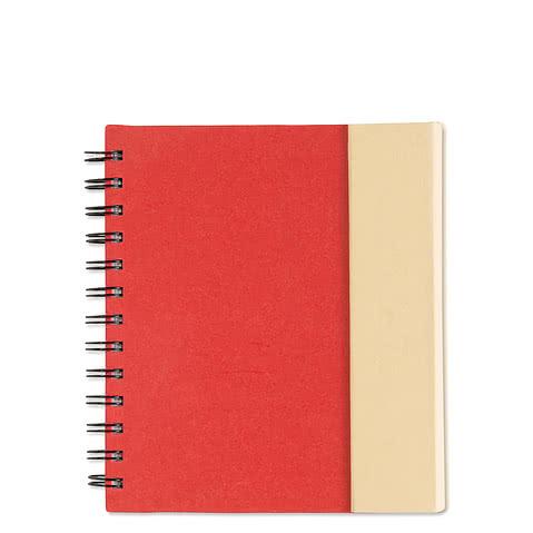 Organized Lock-it Spiral Notebook w/ Pen