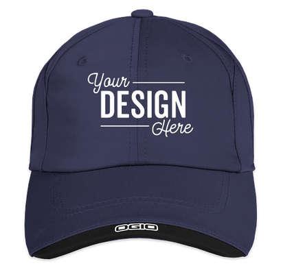 OGIO Contrast Performance Hat - Blueprint / Black