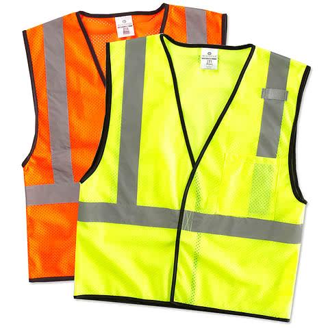 ML Kishigo Class 2 Safety Mesh Vest