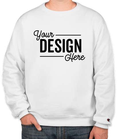 Champion Double Dry Eco Crewneck Sweatshirt - White