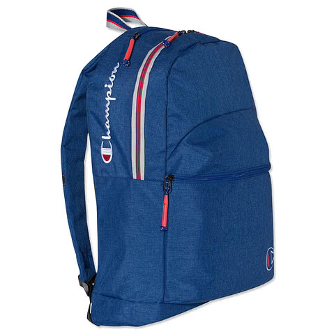 Champion Varsity Stripe Heathered Backpack