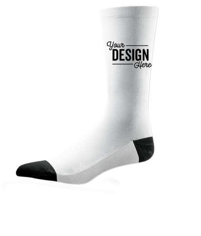 White Value Crew Socks - White
