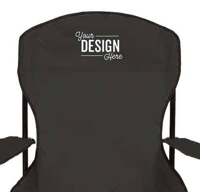 Captain's Folding Chair - Black