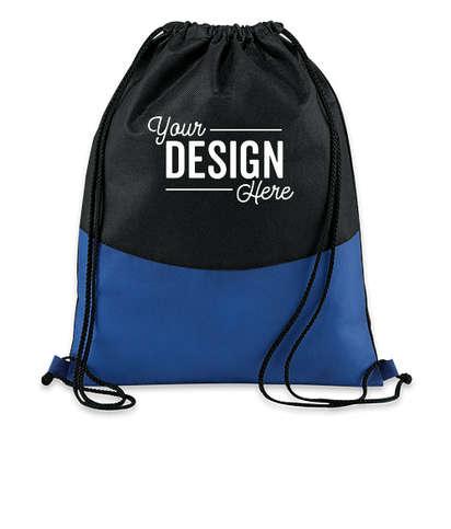 PolyPro Non-Woven Drawstring Bag - Royal