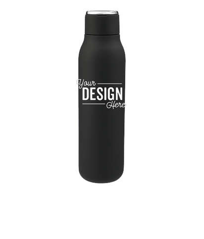 20 oz. Marka Copper Vacuum Insulated Water Bottle - Black