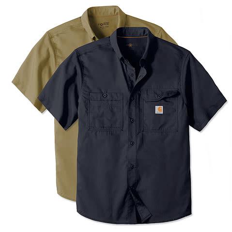 Carhartt Force Ridgefield Short Sleeve Casual Shirt