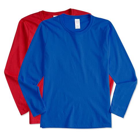 Canada - Gildan Women's 100% Cotton Long Sleeve T-shirt