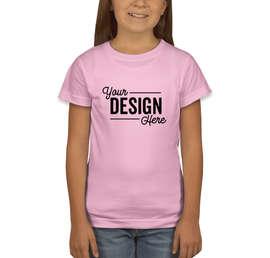 LAT Youth Girls Longer Length Jersey T-shirt
