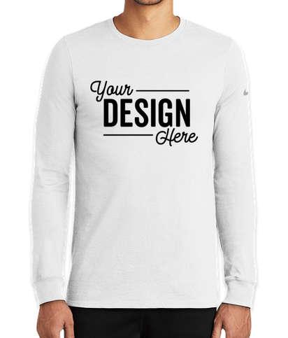 Nike Dri-FIT Long Sleeve Performance Blend Shirt - White