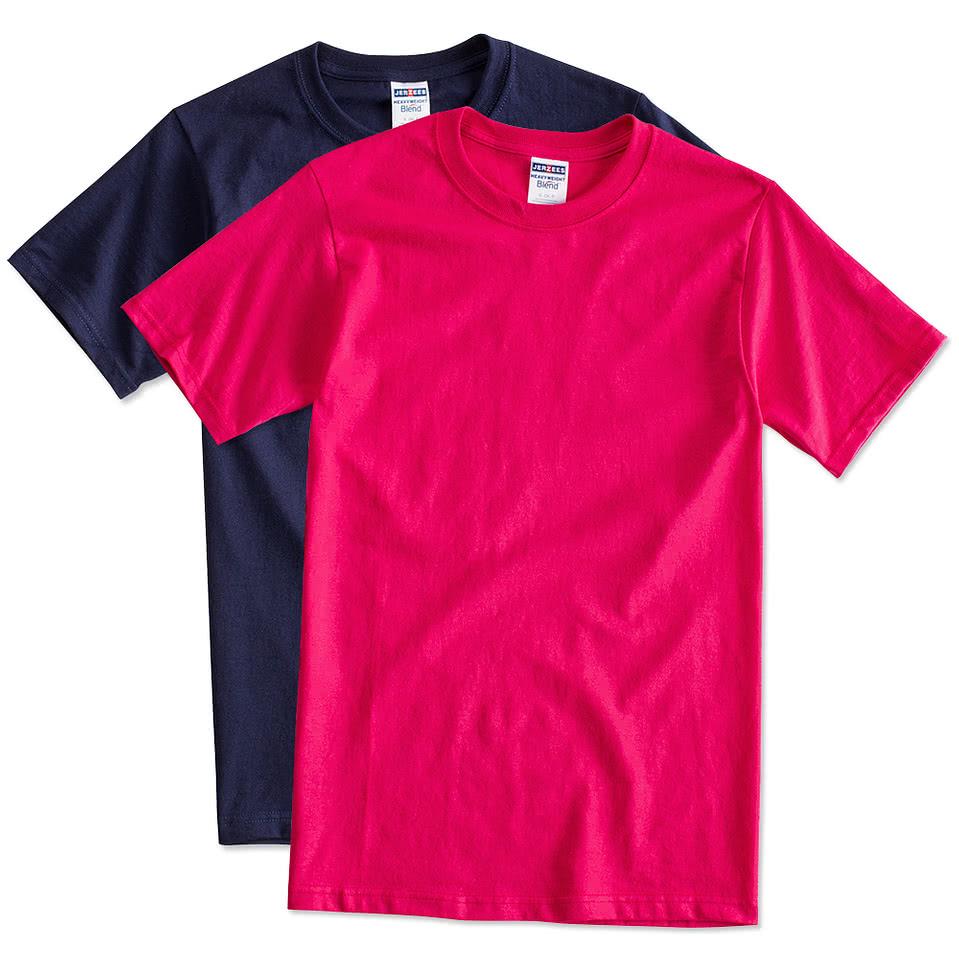 Custom canada jerzees 50 50 t shirt design t shirts for Custom t shirts online