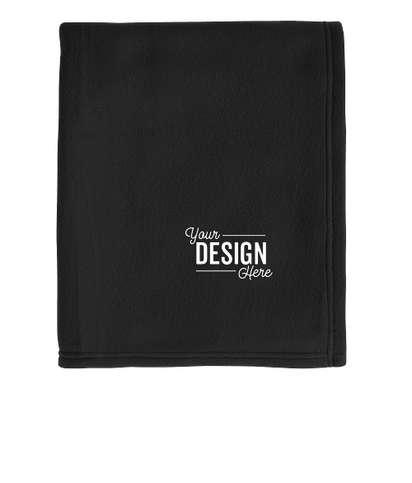 Port Authority Core Fleece Blanket - Black
