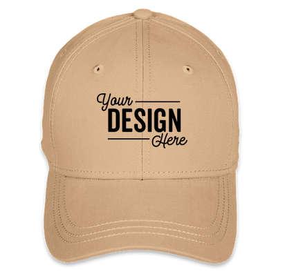 Dri Duck Brushed Twill Hat - Khaki