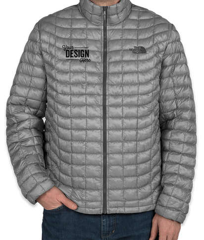 Canada - The North Face ThermoBall Trekker Jacket - Mid Grey