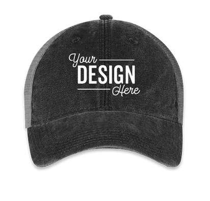 Legacy Dashboard Trucker Hat - Black / Grey
