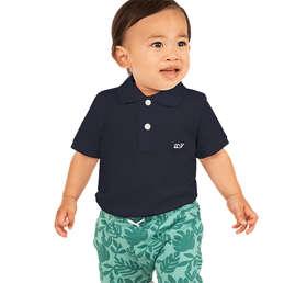 Vineyard Vines Youth Pique Polo