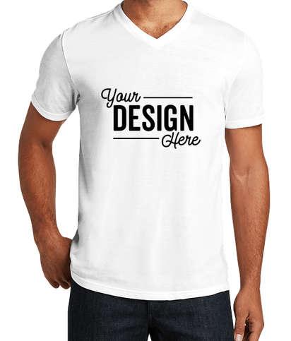 District Tri-Blend V-Neck T-shirt - White