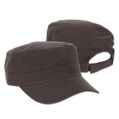 Valucap Bio-Washed Military Hat