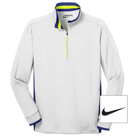 Nike Golf Dri-FIT Half Zip Performance Pullover