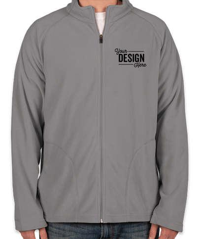 Canada - Team 365 Full Zip Microfleece Jacket - Sport Graphite