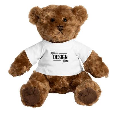 "10"" Traditional Brown Bear - Brown Bear / White T-shirt"