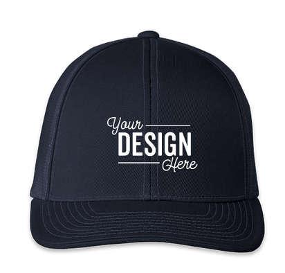 Pacific Headwear Snapback Trucker Hat - Navy