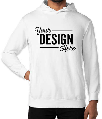 Threadfast Ultimate Pullover Hoodie - White