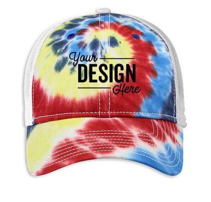 The Game Tie-Dye Trucker Hat - Rainbow