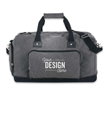 Field & Co. Hudson Weekender Bag - Gray