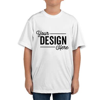 Team 365 Youth Zone Performance Shirt - White
